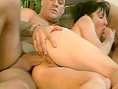 Wife variously fucks with her lover