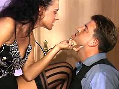 Dominating lady boss that loves oral pleasures