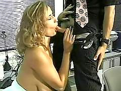 Busty cougar gets nailed hard