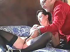 This mom likes riding cock and anal