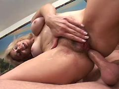 Breasty mature fucks in all holes