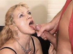Elder mature has fuck and gets cum